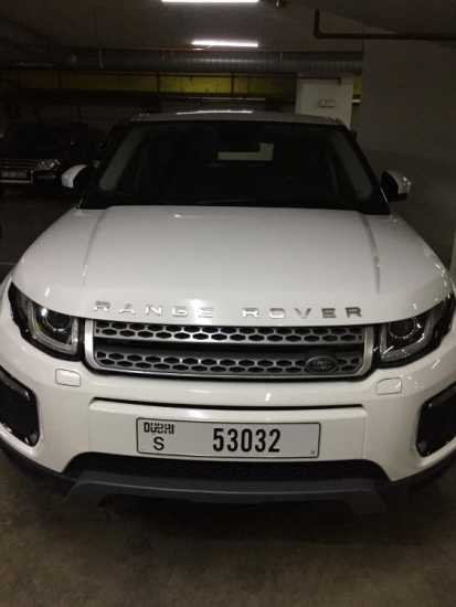 RANGE ROVER EVOGUE 2019 FOR SALE AED 178,000